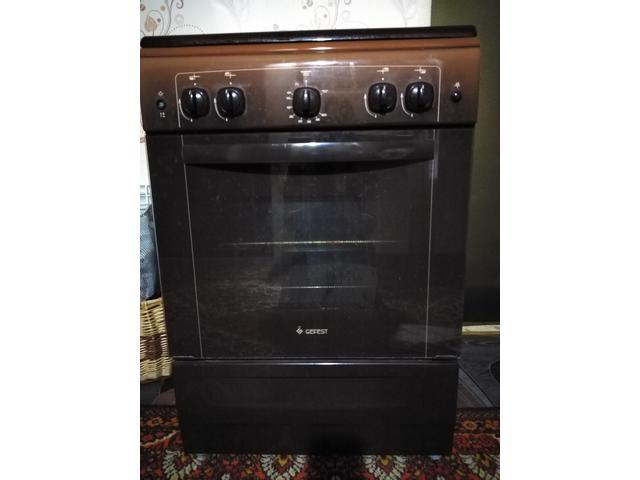 Газовая плита Гефест, посудомоечная машина Бош, морозильник