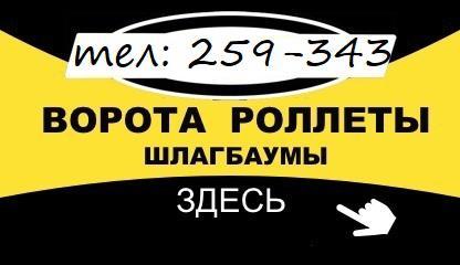 Автоматические: Ворота гаражные-Эл.привода-Рольставни.