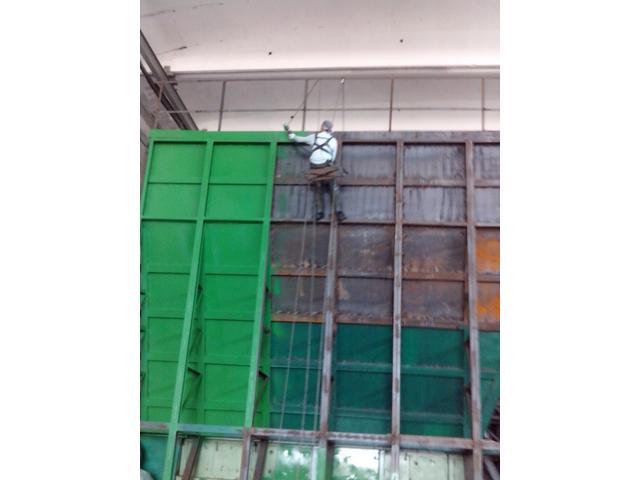Покраска фасада и металлоконструкций