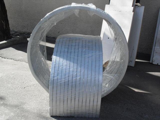 Гибка алюминиевого профиля (бокса, трубы)