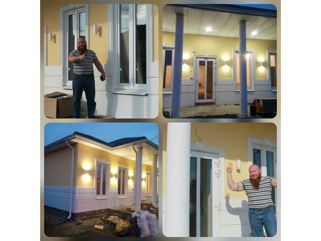 Строительство домов из  Арболит Блока. Деревобетонный Блок