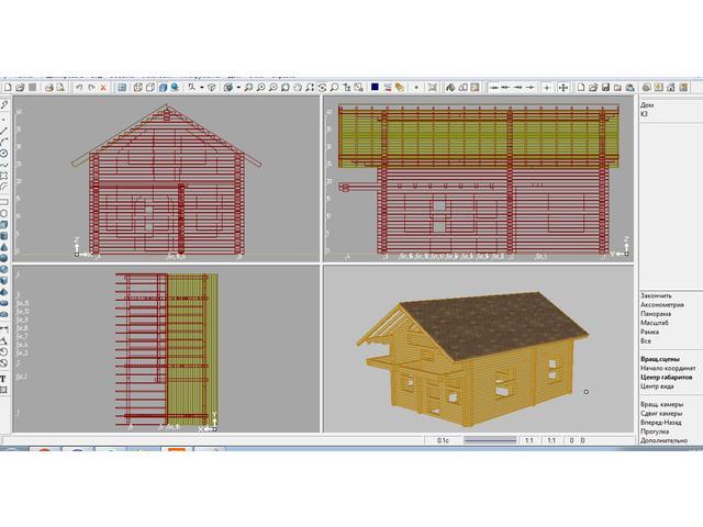 Проектирование деревянных домов, составление смет