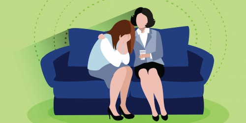 Психолог (работа со страхами, депрессией, тревогой)