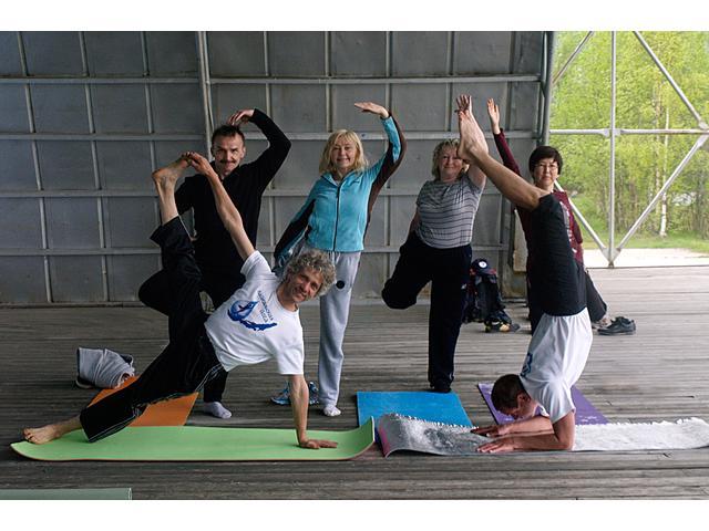 Йога, оздоровительный отдых на Байкале