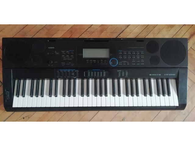 Синтезатор KASIO CTK-6000