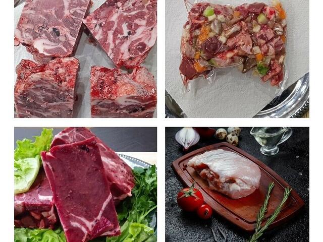Сырое мясо для собак купить Москва