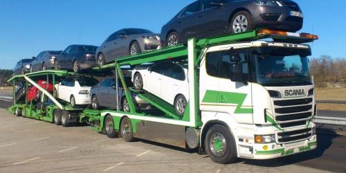 Перевозка автомобилей автовозами из Новосибирска