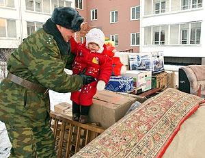 Перевозка домашних (личных) вещей из Новосибирска