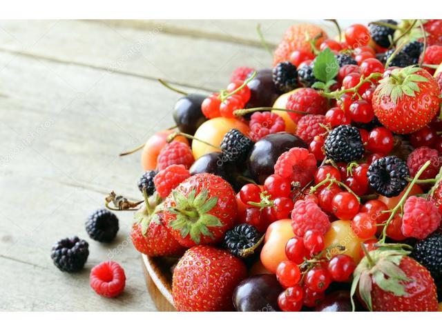 Замороженные ягоды и фрукты оптом.