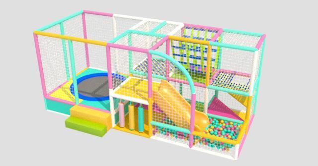 Игровой детский лабиринт