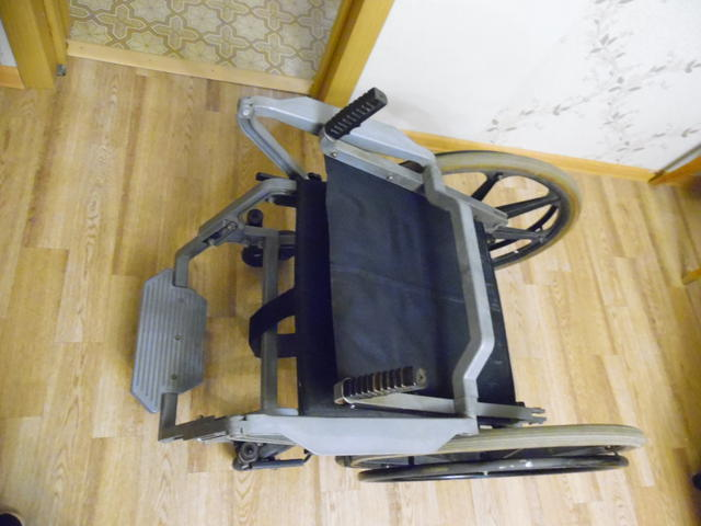 инвалидная коляска, облегченного вида, механическая