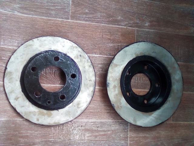 Задние и передние тормозные диски на Мазду 626 и другие модели